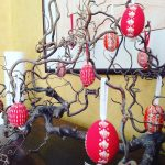 Nearly Easter ! I decorated a twisted hazel branch fromhellip