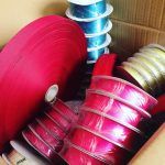 My favourite kind of delivery! Ribbons  Thousands of metres!hellip