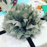 ONS piece of paper made into a pompon! Quite thehellip
