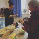 Beavering away at yesterdays workshop Mum and daughter  plushellip