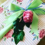 A gorgeous present wrapped for my lovely sisterinlaw sheilawhitedesign hellip